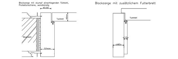 Blockzargen Giese Turen Gmbh Langenzenn